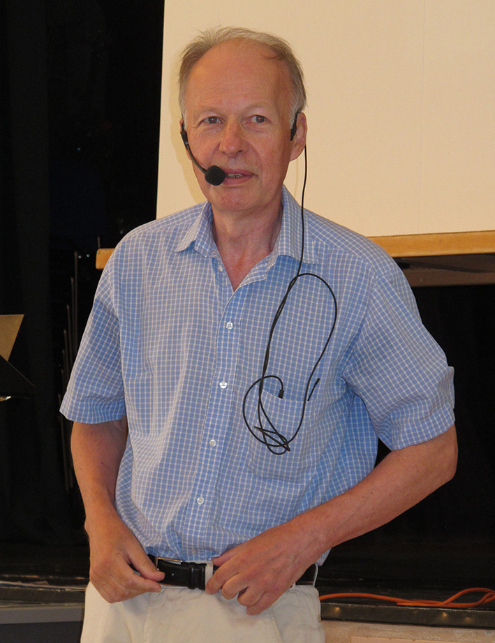 ... med professor emeritus Jan Paul Strid